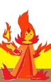 My Clothes Design of Flame Princess