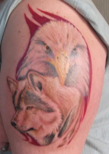 My Sister's EPIC Tattoo!!!! :DDD