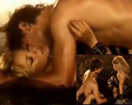 Nadal and shakira in 2010: Gypsy Song began their comeback !