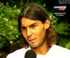 Rafael Nadal photo containing a portrait called Nadal long hair