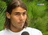Rafael Nadal photo with a portrait called Nadal long hair