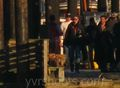 New Set Picture: Colin O'donoghue (Capt.Hook) and His Ship