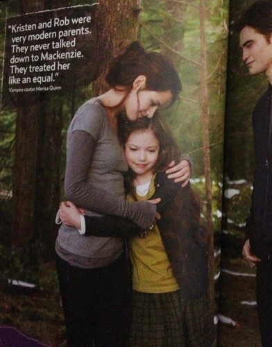 "New pics of Kristen in ""Breaking Dawn: Part 2"" {Inside US magazine}."