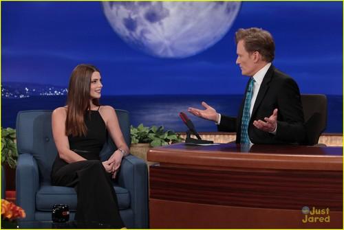 October 2 - On 'Conan' Show, Los Angeles