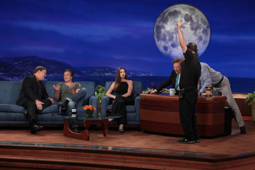 October 2 - On 'Conan' Show, Los Angeles