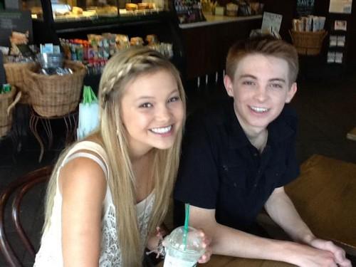 Olvia Holt and Dylan Synder