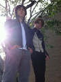 Leo Howard  and Dylan Synder - kickin-it photo