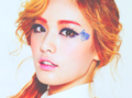 Orange Caramel member Nana's makeup - makeup photo
