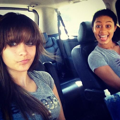 Paris Jackson and her best friend Michaela ♥♥