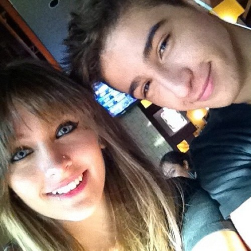 Paris Jackson and her best friend Shak ♥♥