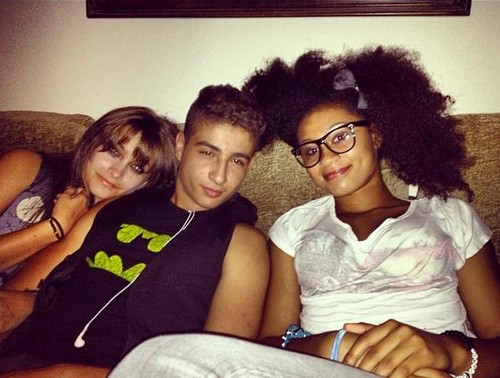 Paris Jackson and her best Friends Shak and Michaela ♥♥