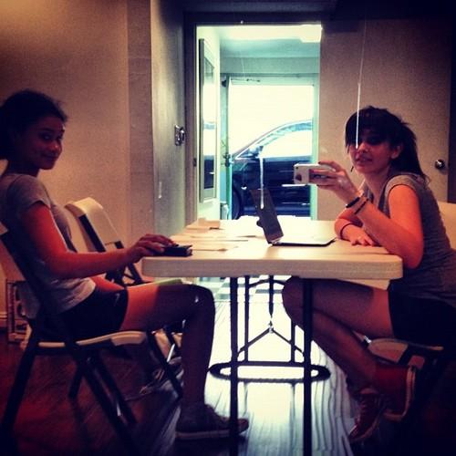 Paris's bes friend Michaela and Paris Jackson ♥♥
