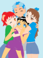 Pepper, Elcee, Rune, and CC! :D - fans-of-pom photo