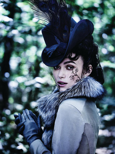 Keira Knightley wallpaper called Photoshoot by Mario Testino [Vogue, 2012]