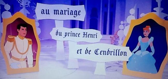 Prince Charming's name is Henry!