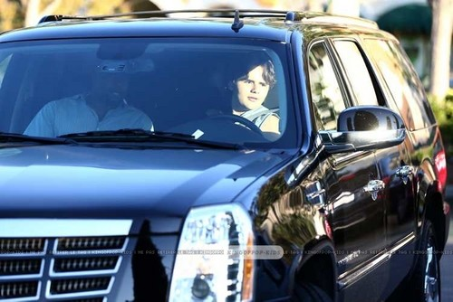 Prince Jackson driving in Calabasas ♥♥ NEW October 1st 2012