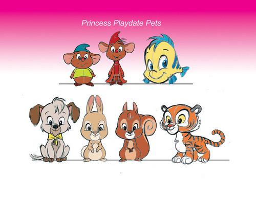 Princess Playdate - (Disney Princesses canceled project)