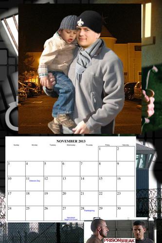 Prison Break - calendar 2013