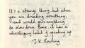 Quotes - J.K Rowling