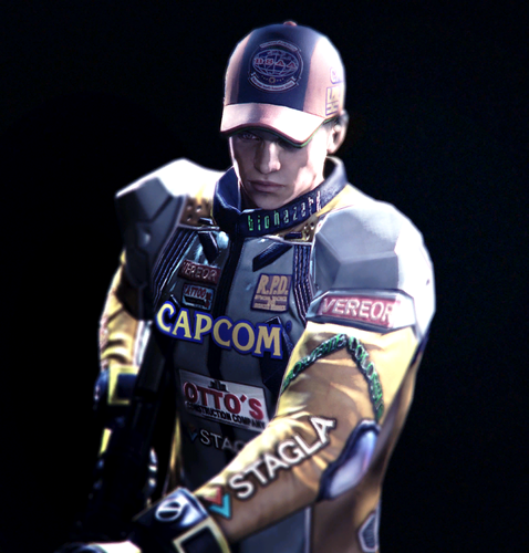 Resident Evil wallpaper probably with a right fielder, a wicket, and a ballplayer titled Piers - RE6 mercenaries outfits