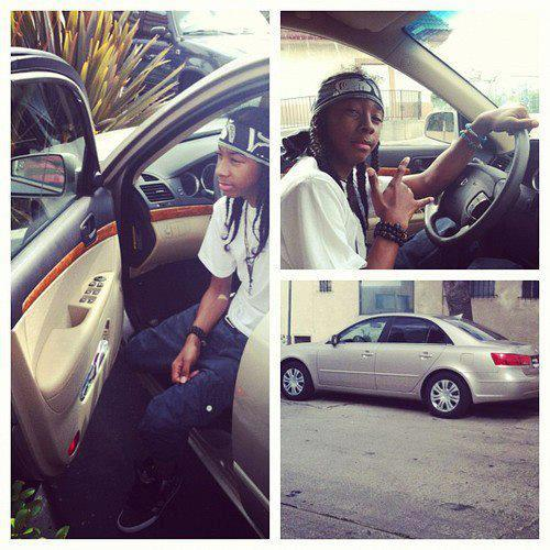 Ray Ray (Mindless Behavior) wallpaper with an automobile entitled Ray Ray's new car.