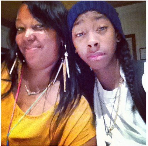 Ray' and his mother Keisha - ray-ray-mindless-behavior Photo