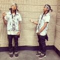 Ray using slipt phone app - ray-ray-mindless-behavior photo