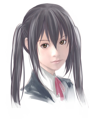 Anime wolpeyper possibly containing a portrait titled Realistic K-ON!