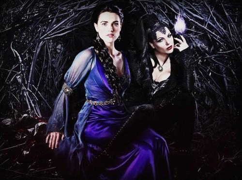 Regina Evil queen and Morgana!
