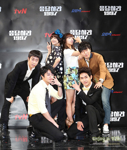 Reply 1997 Cast
