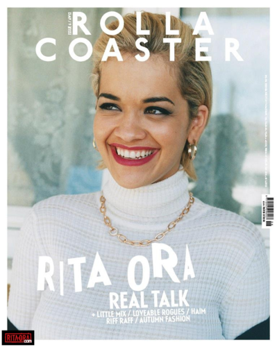 Rita Ora - Magazine Scans - Rollacoaster AW 2012 Issue