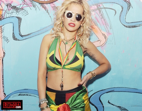 Rita Ora - Red ブル 音楽 Academy Major Lazer Notting 丘, ヒル Carnival Party, ロンドン - August 27, 2012