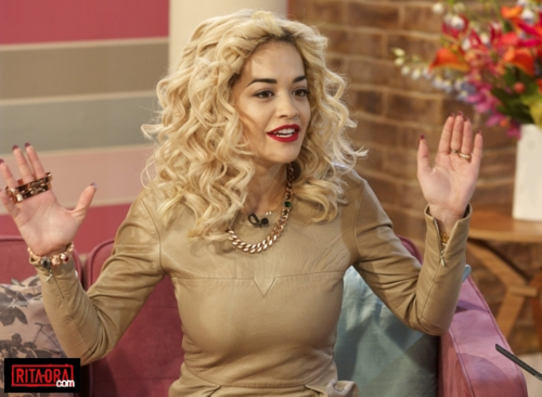 Rita Ora - 'This Morning' TV Programme in London, Britain - August 30, 2012