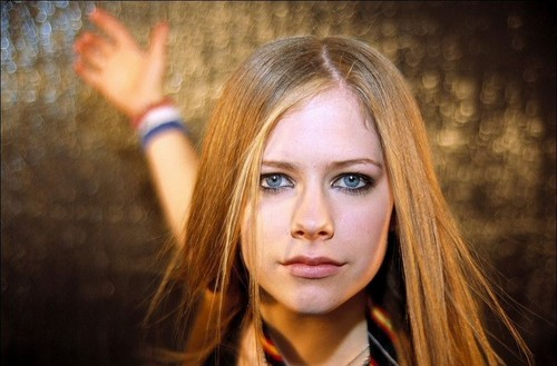 avril lavigne wallpaper with a portrait titled Rolling Stones Photoshoot 2002