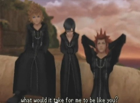 Roxas, Axel and Xion