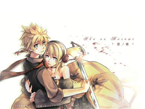 Kingdom Hearts wallpaper called Roxas and Namine