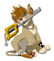 Roxas lion cub - roxas fan art