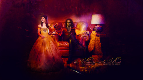 once upon a time wallpaper called Rumpelstiltskin & Belle