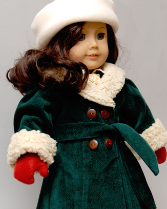 American Girl Dolls wallpaper probably containing a box coat called Ruthie Coat