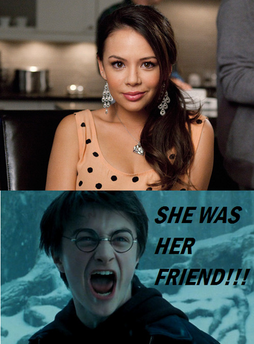 SHE WAS THEIR FRIEND!