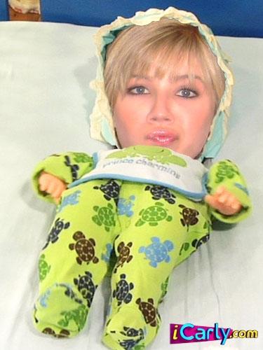 Sam as a baby