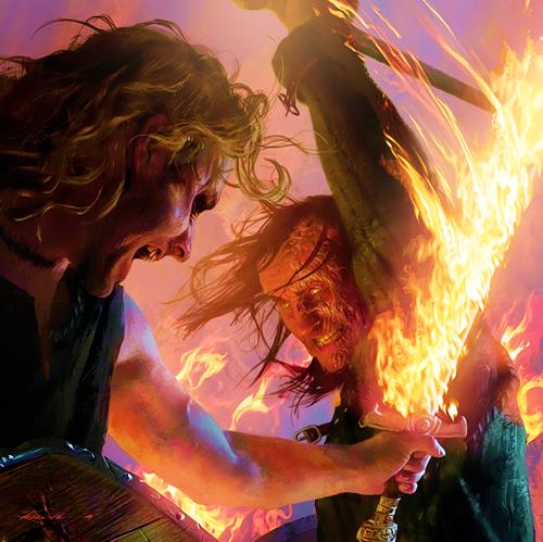 Sandor Clegane & Beric Dondarrion