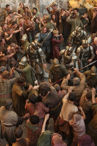 Sandor Clegane & Joffrey Baratheon