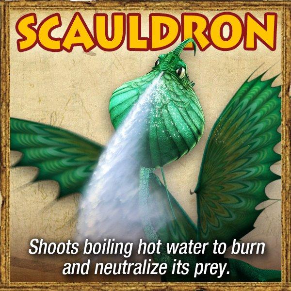 DreamWorks Dragons: Riders of Berk Scauldron