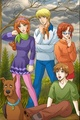 Scooby-doo anime - sinnas-soiree fan art