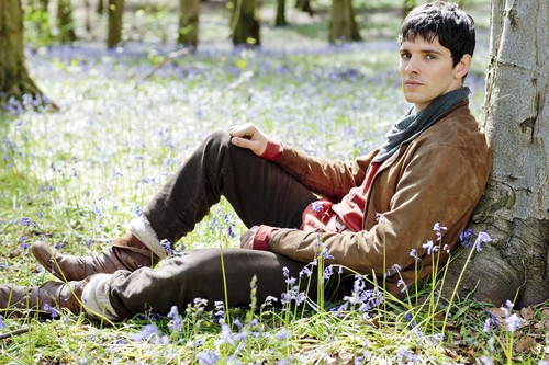 Merlin on BBC wallpaper possibly containing a hip boot called Season 5
