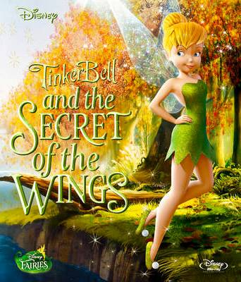 Tinkerbell & the Mysterious Winter Woods wallpaper probably with a leotard entitled Secret of the Wings DVD Cover