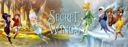 Tinkerbell The Mysterious Winter Woods Wallpaper Containing A Fountain Entitled Secret Of Wings