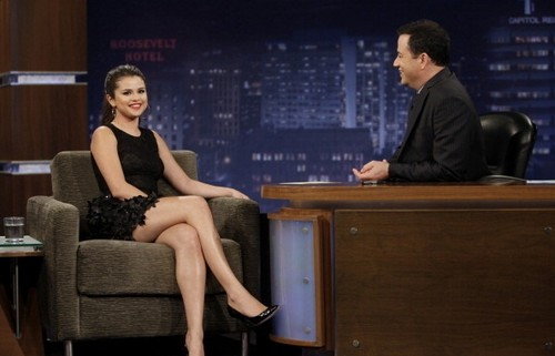 Selena - Jimmy Kimmel Live - September 27, 2012