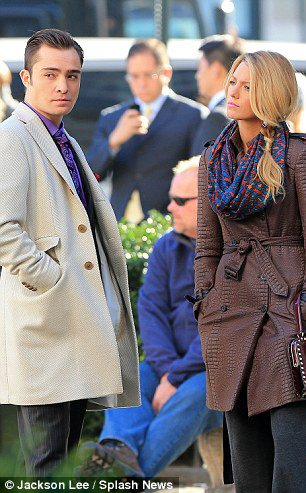 Set Photo 2nd  October -Gossip Girl  - ed-westwick Photo